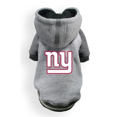 Hip Doggie Inc. Giants NFL Pet Hoodie by Hip Doggie -3XL-Dog-Hip Doggie Inc.-PetPhenom