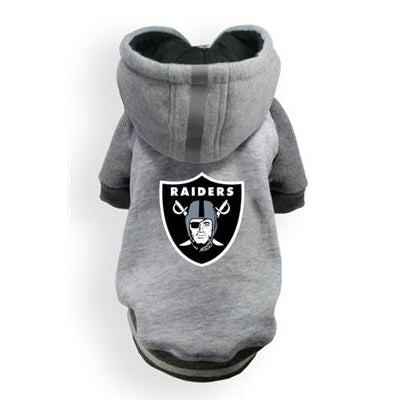 Hip Doggie Inc. Raiders NFL Pet Hoodie by Hip Doggie -XL-Dog-Hip Doggie Inc.-PetPhenom