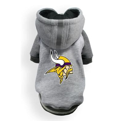 Hip Doggie Inc. Vikings NFL Pet Hoodie by Hip Doggie -2XL-Dog-Hip Doggie Inc.-PetPhenom