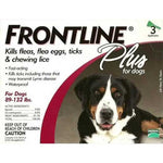 Frontline Flea Control Plus for Dogs And Puppies 89-132 lbs 3 Pack
