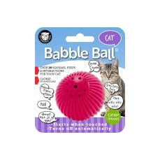 Pet Qwerks Cat Babble Ball-Catnip Infused-Cat-Pet Qwerks-PetPhenom
