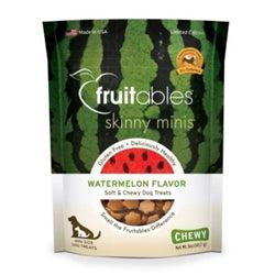 Fruitables Watermelon Skinny Minis Soft and Chewy Dog Treats - 5oz. Pouch-Dog-Fruitables-PetPhenom