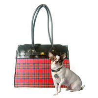 bark n bag® Tartan Monaco Tote-Dog-bark n bag®-PetPhenom
