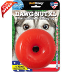 "Ruff Dawg Indestructible Dawg Nut Dog Toy Extra Large Assorted 4.5"" x 4.5"" x 4.5""-Dog-Ruff Dawg-PetPhenom"