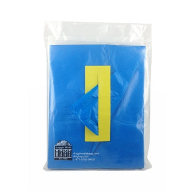 Doggie Walk Bags Butler - Refills 2 Pouches, Blue/Powder, 140 bags-Dog-Doggie Walk Bags-PetPhenom