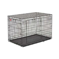 "Midwest Life Stage A.C.E. Double Door Dog Crate Black 23"" x 13.75"" x 16""-Dog-Midwest-PetPhenom"