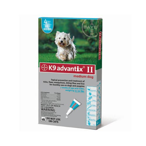 Advantix Flea and Tick Control for Dogs 10-22 lbs 4 Month Supply-Dog-Advantix-PetPhenom
