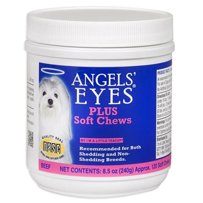 Angels' Eyes Plus for Dogs - 120 Ct - Beef Formula, Soft Chews-Dog-Angel's Eyes-PetPhenom