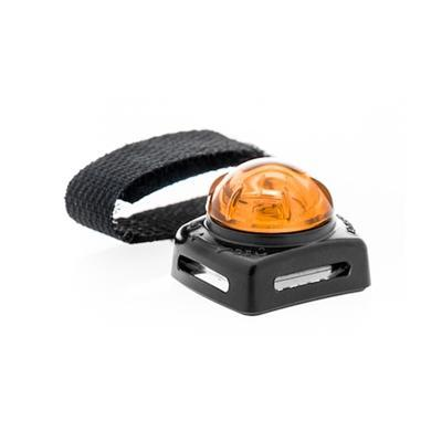 Adventure Lights Adventure Lights Small Pet Light, Black Base, Flashing -Orange-Dog-Adventure Lights-PetPhenom