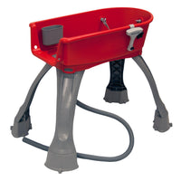 "Booster Bath Elevated Dog Bath and Grooming Center Medium Red 33"" x 16.75"" x 10""-Dog-Booster Bath-PetPhenom"