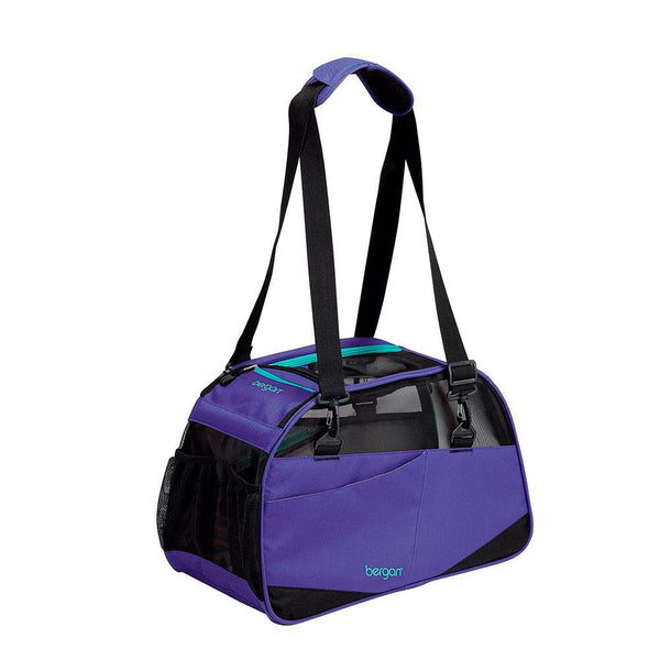 "Bergan Voyager Pet Carrier Medium / Large Purple 13"" x 19"" x 10""-Dog-Bergan-PetPhenom"