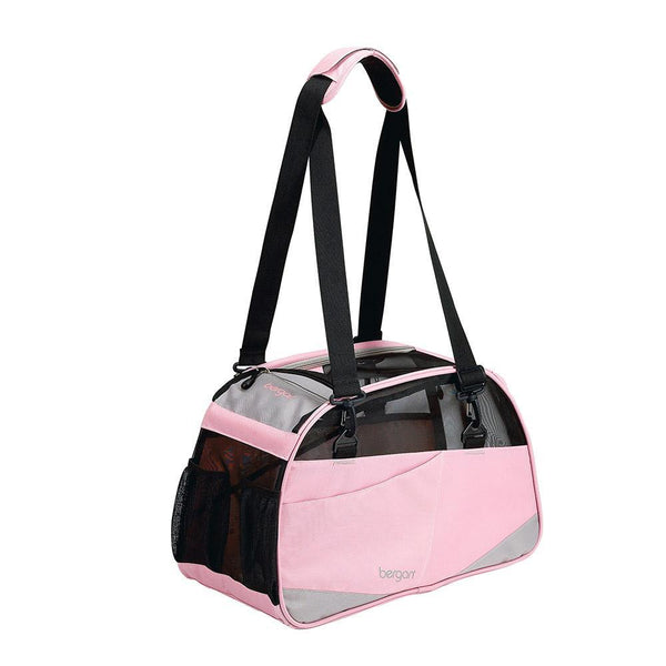 "Bergan Voyager Pet Carrier Medium / Large Pink 13"" x 19"" x 10""-Dog-Bergan-PetPhenom"