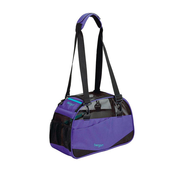 "Bergan Voyager Pet Carrier Small Purple 12"" x 8"" x 17""-Dog-Bergan-PetPhenom"