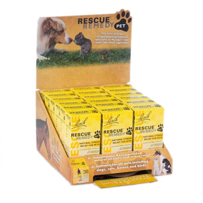 Rescue Remedy Pet Nelson Bach Rescue Remedy Pet, 18 piece 10 ml Display-Dog-Rescue Remedy Pet-PetPhenom