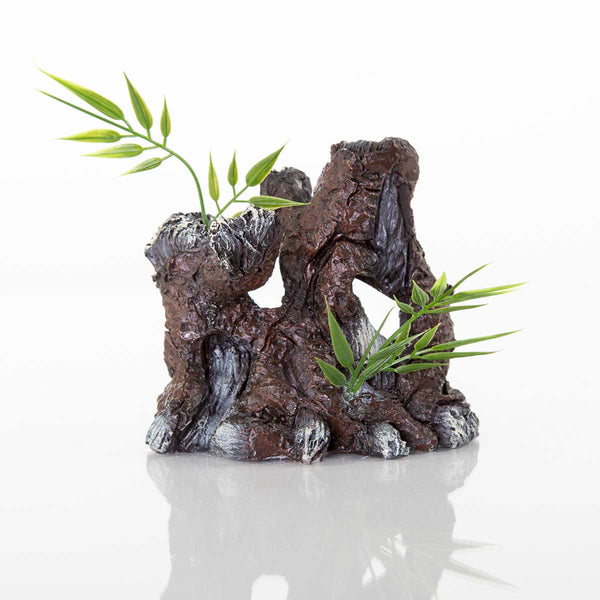 "BioBubble Decorative The Old Stump 4.25"" x 3"" x 4.25""-Small Pet-BioBubble-PetPhenom"