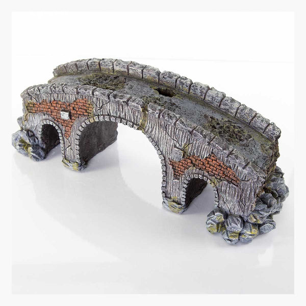 "BioBubble Decorative Old Stone Bridge Large 6"" x 5"" x 7""-Small Pet-BioBubble-PetPhenom"