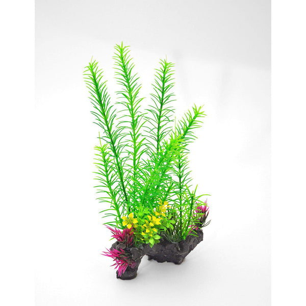 "BioBubble Decorative Foxtail Green 6"" x 3"" x 11""-Small Pet-BioBubble-PetPhenom"
