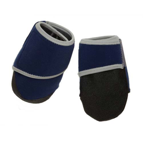Bowserwear Healers Booties For Dogs Box Set Small Blue-Dog-Bowserwear-PetPhenom