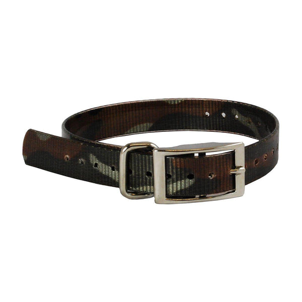 "The Buzzard's Roost Collar Strap 1"" Camo 1"" x 24""-Dog-The Buzzard's Roost-PetPhenom"
