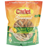 Cadet Sweet Potato Steak Fries Treats 2 pounds-Dog-Cadet-PetPhenom