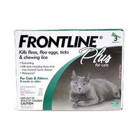 Frontline Flea Control Plus for All Cats And Kittens 3 Month Supply-Cat-Frontline-PetPhenom