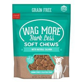 Cloudstar Wagmore Dog Grain Free Soft & Chewy Salmon 5oz-Dog-Cloud Star-PetPhenom