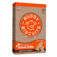 Buddy Biscuits Original Oven Baked Crunchy Teeny Treats Peanut Butter 8 ounces-Dog-Buddy Biscuits-PetPhenom