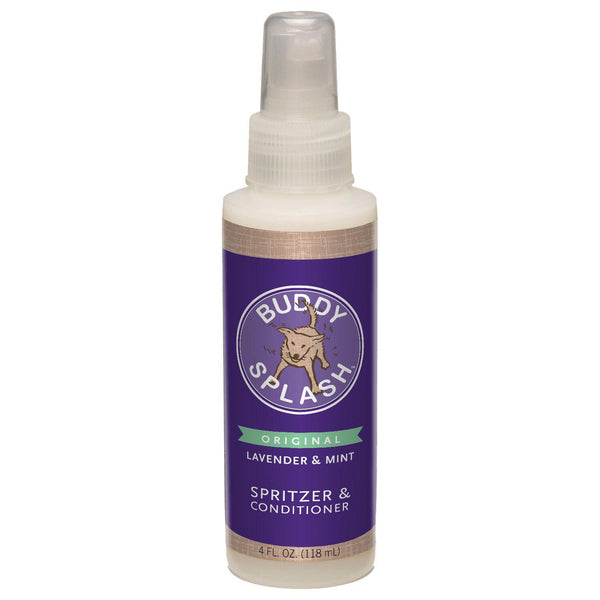 Buddy Splash Lavender and Mint Spritzer and Conditioner 4 ounces-Dog-Buddy Splash-PetPhenom