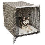 "Midwest QuietTime Defender Covella Dog Crate Cover Brown 30"" x 19"" x 21"""