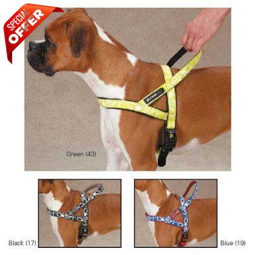 Casual Canine Xtreme Logo Dog Harness-Dog-Casual Canine-Medium/Black-PetPhenom