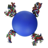 "Hueter Toledo Soft Flex The Tuggy Dog Toy Blue 6.5"" x 6.5"" x 5.5""-Dog-Hueter Toledo-PetPhenom"