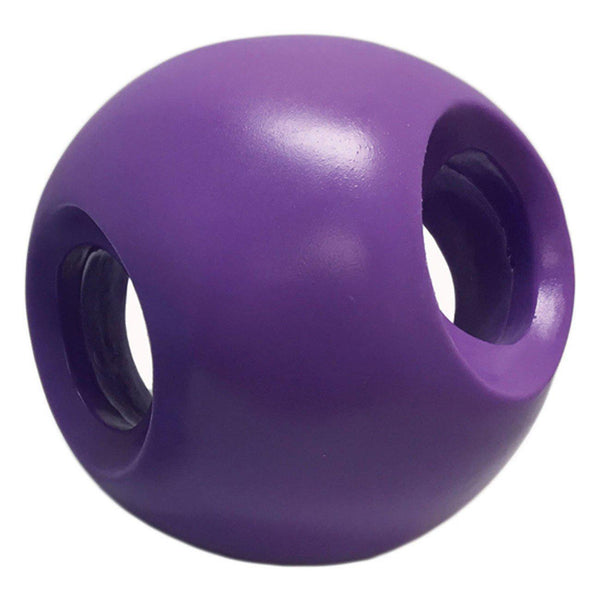 "Hueter Toledo Soft Flex Powerhouse Dog Toy Purple 5.5"" x 5.5"" x 5.5""-Dog-Hueter Toledo-PetPhenom"