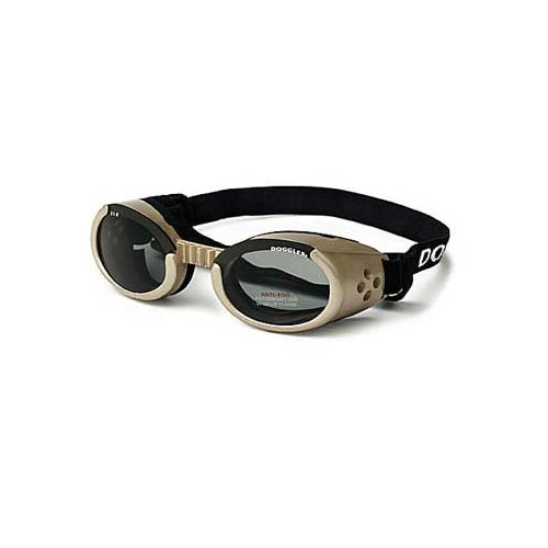 Doggles ILS Dog Sunglasses Extra Small Chrome / Smoke-Dog-Doggles-PetPhenom