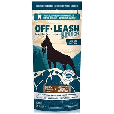 Complete Natural Nutrition Off-Leash Dental Chews -Branch (Large)-Dog-Complete Natural Nutrition-PetPhenom