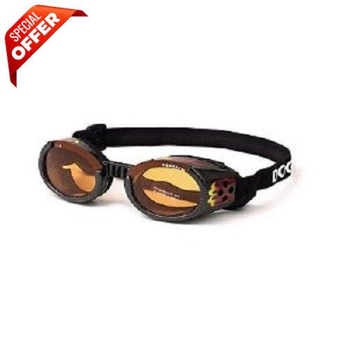 Doggles ILS Racing Flames Dog Goggles-Dog-Doggles-Medium-PetPhenom