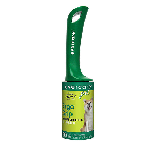 "Evercare Pet Plus Giant Extreme Stick Lint Roller 60 Sheets 10.2"" x 2.75"" x 2.75"""