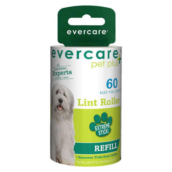 "Evercare Pet Plus Extreme Stick 60 Sheet Refill 4"" x 2.25"" x 2.25""-Dog-Evercare-PetPhenom"