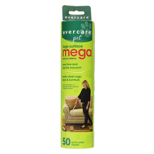 "Evercare Pet Extreme Stick Mega 50 Sheet Refill 10"" x 2.75"" x 2.75""-Dog-Evercare-PetPhenom"