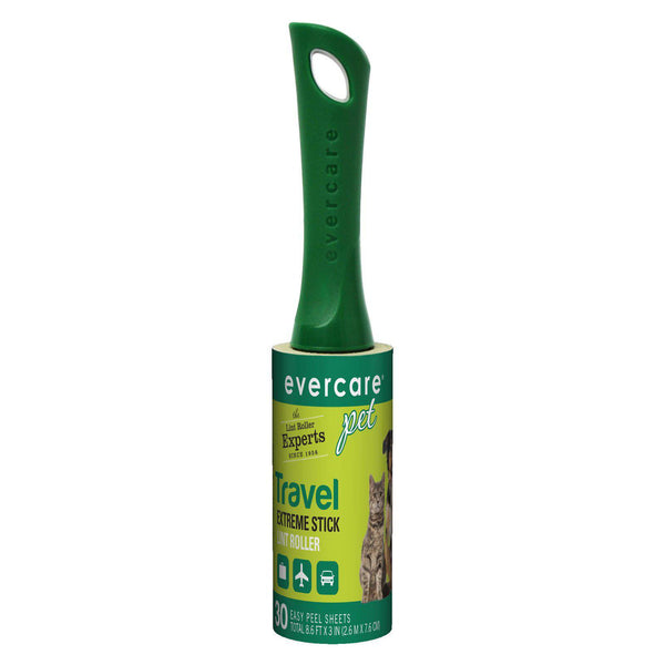 "Evercare Pet Extreme Stick Pet Travel Roller 30 Sheet 6.5"" x 1.25"" x 1.25""-Dog-Evercare-PetPhenom"