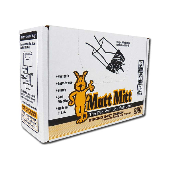 Mutt Mitt Waste Disposal Gloves 200 pack-Dog-Mutt Mitt-PetPhenom