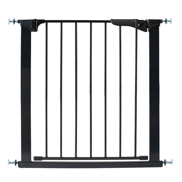"Kidco Gateway Pressure Mounted Pet Gate Black 29"" - 37"" x 29.5""-Dog-Kidco-PetPhenom"