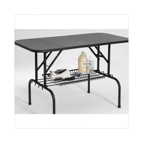 "Midwest Grooming Table Shelf Black 36"" x 16.5""-Dog-Midwest-PetPhenom"