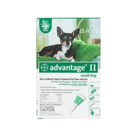 Advantage Flea Control for Dogs and Puppies Under 10 lbs 6 Month Supply-Dog-Advantage-PetPhenom