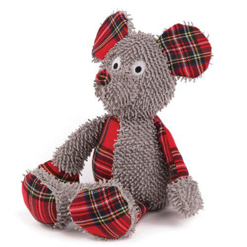 Grriggles Polyester Merry Medleys Dog Toy, 12-Inch, Mouse-Dog-Grriggles-PetPhenom