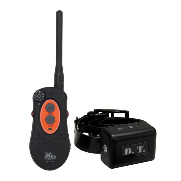 D.T. Systems H2O 1 Mile Dog Remote Trainer with Vibration Black-Dog-D.T. Systems-PetPhenom