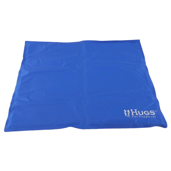 "Hugs Pet Products Pet Chilly Mat Medium Blue 19.5"" x 15.5"" x 0.75""-Dog-Hugs Pet Products-PetPhenom"