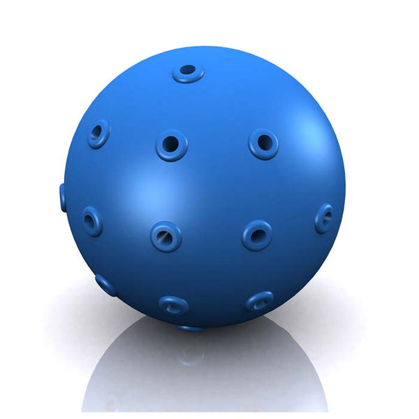 "Hugs Pet Products Hydro Dog Ball Toy Blue 2"" x 2"" x 2""-Dog-Hugs Pet Products-PetPhenom"