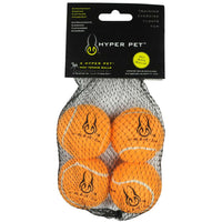 "Hyper Pet Mini Replacement Balls 4 Pack Orange 1.88"" x 1.88"" x 1.88""-Dog-Hyper Pet-PetPhenom"