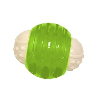 "Hyper Pet Hyper Squawker Ball Dog Toy Green 3.24"" x 2.52"" x 2.52""-Dog-Hyper Pet-PetPhenom"