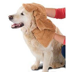 "Hueter Toledo The Muddy Mit Pet Towel Small Tan 16"" x 15.2"" x 1""-Dog-Hueter Toledo-PetPhenom"